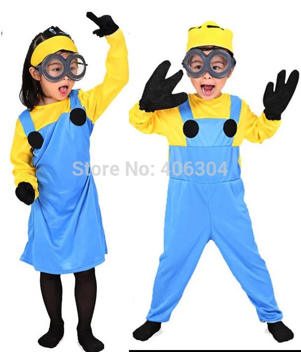 Карнавальный костюм миньона своими руками