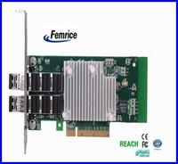 10Gbps Ethernet Controller Fiber Optical Card Two Port Ethernet Network Card