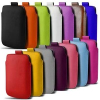 Hot Selling Pu Pull Tab Leather Pouch Case for New IPhone 6 4.7'' Phone Bag Colorful Wholesale DHL Free Shipping