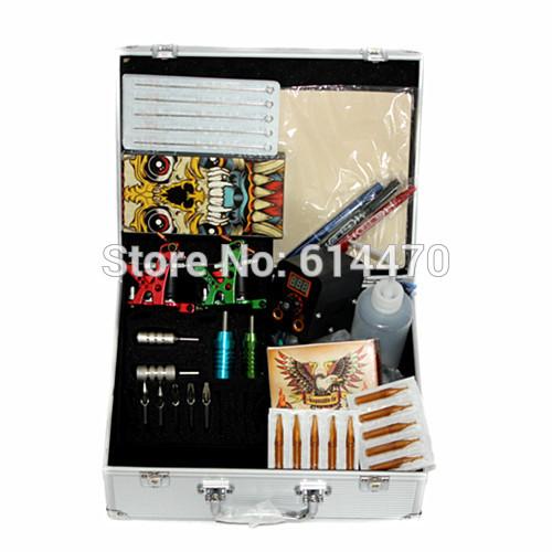 Superior!! Kits de tatuagem unidade de potência fornecer metralhadoras fornecedor de equipamentos para tatuagem(China (Mainland))