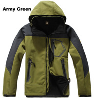 Fall Winter Outdoor Sports Clothing for Man/ Men's S-XXL Waterproof Breathable Softshell Fleece Camping Hiking Jackets/ A402