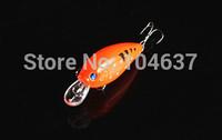 30PCS/lot Hot Fishing Artificial Baits Lures Crank Baits 7CM 9.8G 6# (CB016) Crankbait Hard Baits Plastic Lures Free Shipping