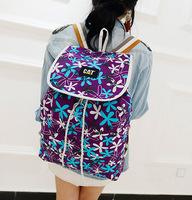 Women backpack mochila feminina school bag Flowers canvas backpacks sport bags travel cute school backpacks SJ0216