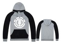 Hot Sale Element Skateboard Sweatshirt hoodies men Red Gray Color Element Cheap Man Hoodie