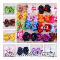 Trial Order 10pcs Baby Flower Headband With Big Bow Infant Hair Bows Newborn Ribbon Bowknot Hair Band Hair Apparel Accessories