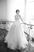 Short Wedding Dress Special Offer Rushed 2014 Vestidos De Novia Romantic Fashionable Wedding Dresses Long Bridal 2014_bridalk