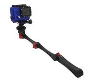 Go pro Folable Pocket Stabilizer Grip Mount Monopod For Gopro Hero 3+/3/2 Sport Camera