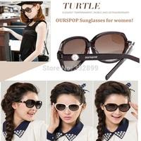 OURSPOP OP-1455 Polarized Eyewear Shiny Wayfarer Style Sunglasses Various Colors for women