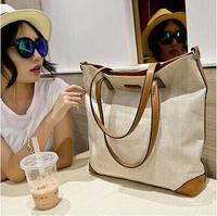 New Arrive Flax Material Women Bag Fashion High Quality Women  Messenger Bags  Hot Design Stylish Handbags Shoulder Bag