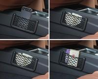 New 2014 Universal Car Seat Side Back Net Storage Bag Phone Holder Pocket Organizer