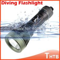 CREE XML XM-L T6 LED 2000 Lumens lumen Diving Flashlight Torch shocker Waterproof Underwater 80M