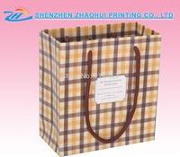 recyled promotional paper food bag