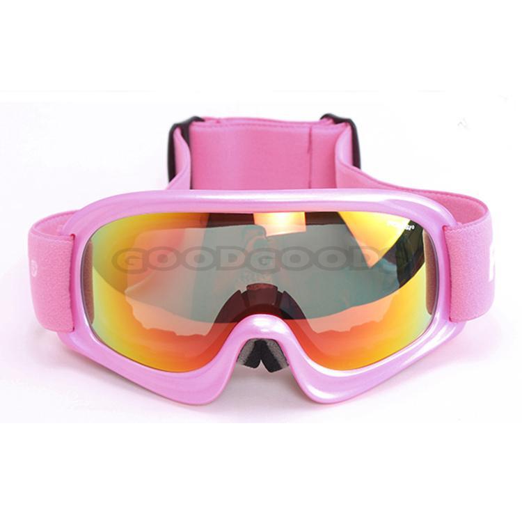 Free Shipping! POLISI Ski Snowboard Snow Polarized Glasses Snowmobile Sun Goggles Outdoor Sport Anti-Fog Lens For Children(China (Mainland))