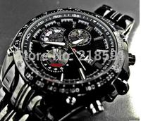Free shipping  Luxury brand sports Watch men Quartz Watches Auto Date Dress wristwatch military watches man full steel watch