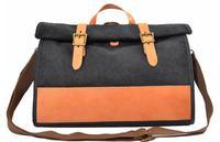 New Arrival Men Vintage Casual Canvas Leather Messenger Shoulder Bags School Travel Backpacks Fashion Unique Design High Quality
