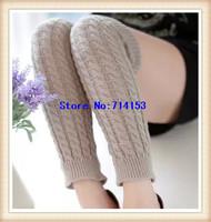 fashion knited ladys' leg warmer