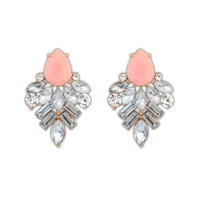 Free Shipping New 2014 Arrived Jewelry Fashion Crystal Statement Earrings ZC6P5C (minimal mixed style $5)