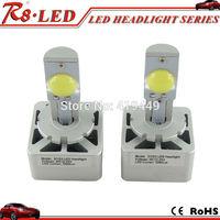 Hot D1/D3 6400lm/set Brightest LED Headlight Conversion Kit CREE LED Bulbs 6500K H7 H10 H11 H16 9005 9006 D2 D4 Available