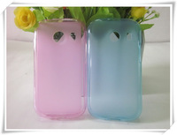 20 pcs/lot + FREE SHIPPING, Pudding TPU Soft Case For Samsung Galaxy Ace 4 G313H SM-G310A , high quality 4 colors