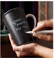 [ LEAVING MESSAGE MUG] novelty 2014 starbucks mug 12oz whriten ceramic big size coffee cup / creative coffee mug, lovers gift