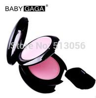 Baby gaga 3d three-dimensional solid color blush 9g blusher trimming orange pink natural nude makeup 12pcs/lot