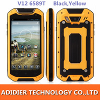 Excellent Tengda V12 Smartphone IP67 MTK6589T Quad Core Cell phoneS 4.5 Inch HD IPS Screen Android 4.2 3G GPS Mobile phone