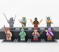 Game LOL League of Heroes 8pcs./Set Brand Renekton Nidalee Gangplank Amumu Warwick Ryze Shen Action Figures Toys Brinquedos