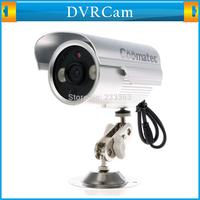 DVRCam WR Waterproof Micro SD Card DVR CCTV Camera IR Led Array AV-OUT BNC TF Card Slot Outdoor Use Home Security Bullet Camera