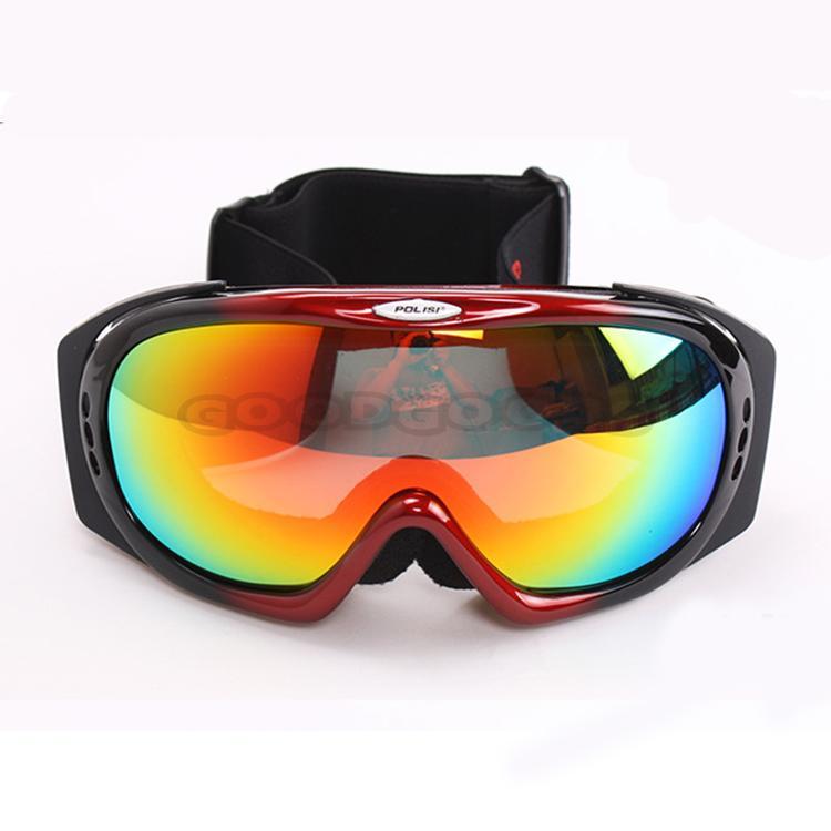 Free Sample! New POLISI Motorcycle Motocross ATV Glasses Ski Snowboard Sled Polarized Protecti ...