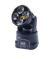 4pcs 10W 4IN1 LED Moving Beam Light(led par light,moving head light,disco light,laser,dmx controller,console professional stage)