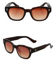 2014 New fashion glasses men all-match sun glasses women brand designer round retro sunglasses Free shipping oculos de sol G325