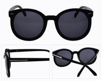 2014 Fashion Coating Sunglass Girls Womens Brand Designer Big Round Sunglasses Women Vintage Sun Glasses gafas Oculo de sol G290