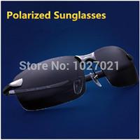 New 2014 Alloy Polarized Sunglasses Classic 3043 Men Sport Driving Sun Glasses Male Brand Polaroid Sunglass Oculos De Sol G282