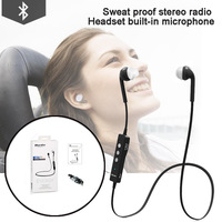 Bluedio Energy S2 Sports Bluetooth Headset Wireless  Stereo Earbuds Earphone  Built-in Microphone  Sweat Proof  Water