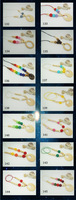 200 designs 1 PC SALE nursing necklace, teething necklace,  baby crochet toy NWR1862