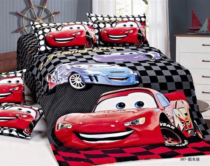 Drap de lit voitures achetez des lots petit prix drap de for Housse de couette voiture de course