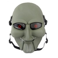 Saw Puppet Masquerade Cosplay Movie Prop Horror Scary Mask Halloween Easter Party  Mask  Tactical  Airsoft  Mask