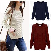 Women's Casual Long Sleeve Knitwear Jumper Cardigan Long Coat Jacket Sweater New E6170