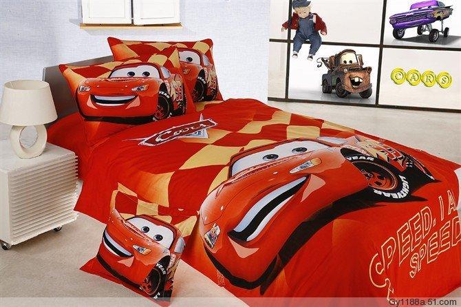 mobil balap anak anak laki laki tempat tidur bayi set