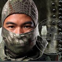 Chiefs Rattlesnake Tactical Airsoft Hunting Wargame Breathing Face Balaclava Mask Motorcycle Skiing Cycling Full Hood NinJa Mask