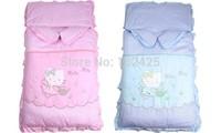 Baby Sleeping Bag with Fleece Blanket & Pillow