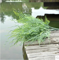 Plastics grass Simulated Fake plants Home Party Hone Decoration Artificial Flowers Green trees MA1620