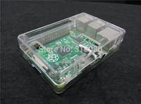 Acrylic case for Raspberry Pi Model B + acrylic shell / shell raspberry fan installation support