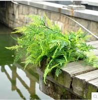 47cm plastic aquatic green grass silk artificial flowers home table decoration green tress  MA1621