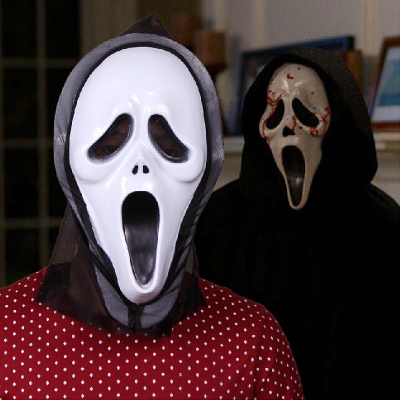 3Pcs/set Scream Mask Full Face For Halloween Masquerade 9 Types To Choose SMHA004()