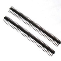 2000pc/lot 40Pin 2.54mm Single Row Straight Male Pin Header Strip