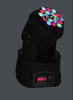 18pcs 3W RGB LED Yoke Beam(led par light,moving head light,disco light,laser,dmx controller,console