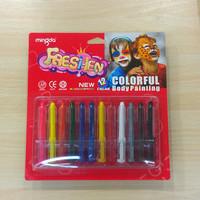 FG305 Non-toxic face painting body painting paint pen 12 color combinations suit makeup paint pigment World Cup party