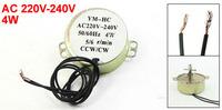 AC220V-240V 50/60Hz 4W 5/6 r/min Microwave Oven Synchronous Motor 2pcs