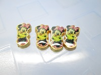 Minnie Golden Back Floating Charm Floating Locket charm Fits Living lockets 20pcs/lot Free shipping